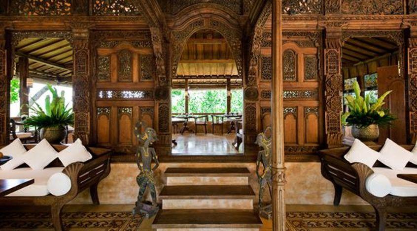 Desain rumah tradisional sederhana [Sumber: id.pinterest.com]