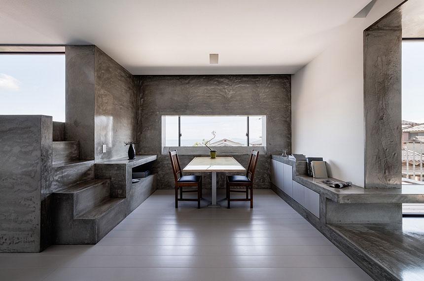 Gaya rumah Jepang minimalis Scape House karya FORM/Kouichi Kimura Architects [Sumber: busyboo.com]