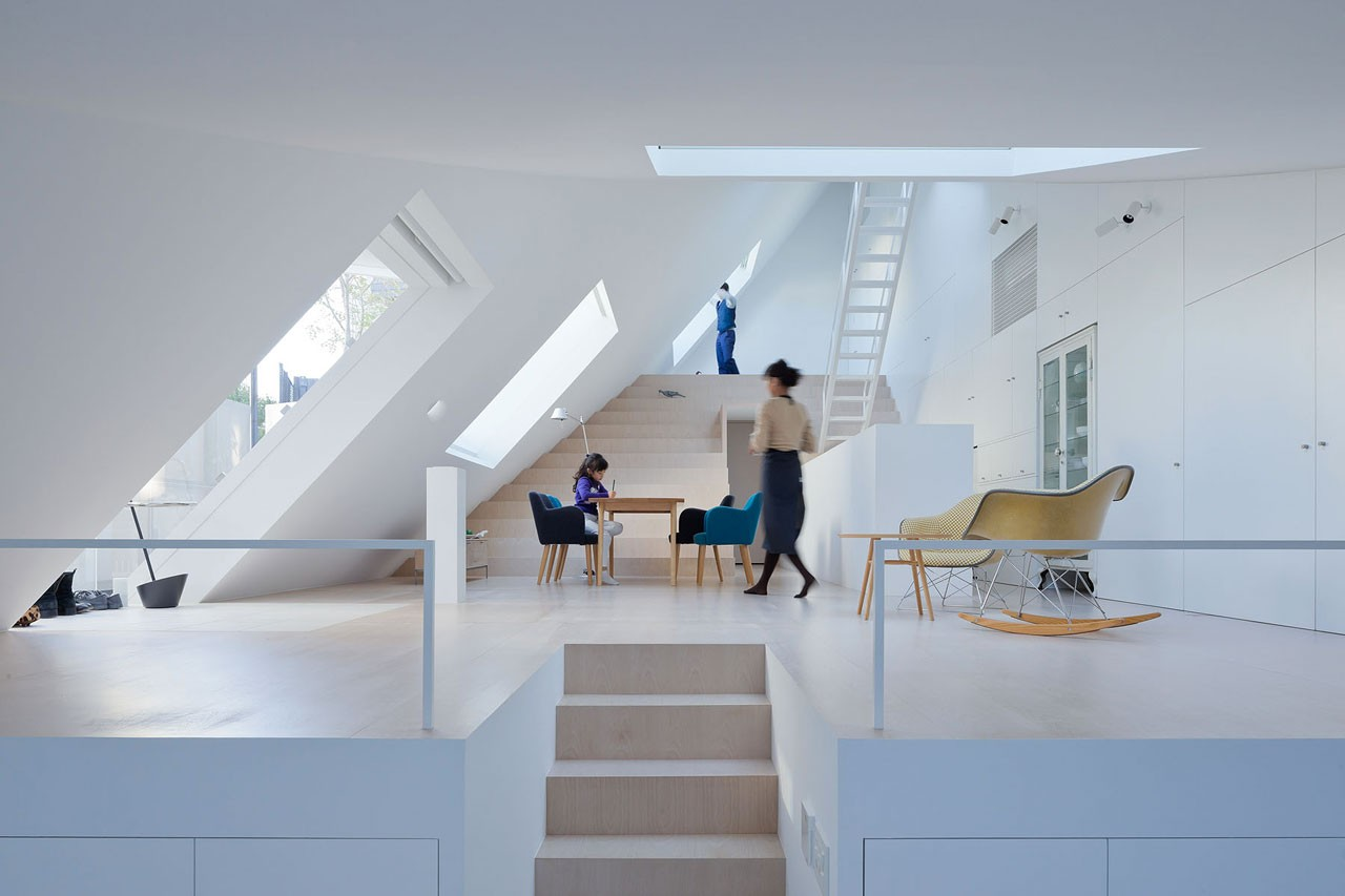Desain rumah Jepang yang unik House K karya Sou Fujimoto [Sumber: domusweb.it]
