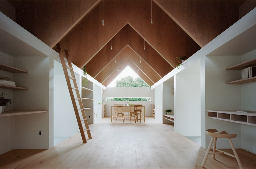 Interior rumah minimalis Jepang karya mA-Style Architects [Sumber: home-designing.com]