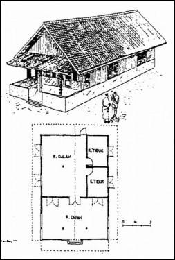 8100 Gambar Dan Penjelasan Rumah Adat Betawi Terbaru