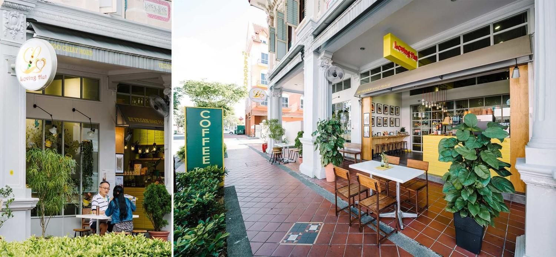 Loving Hut Joo Chiat, Singapura Karya Enviro Tec (Sumber: arsitag.com)