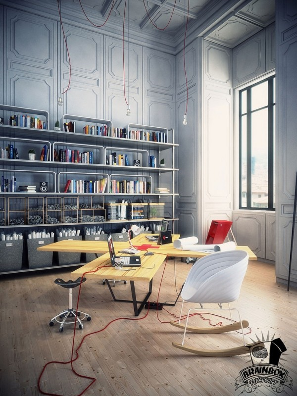 Kantor di Dalam Rumah (Sumber: rumahseminimalis.com)