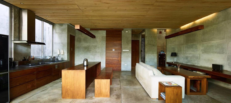 Bare Minimalist di Jakarta karya RAW Architecture (Sumber: arsitag.com)