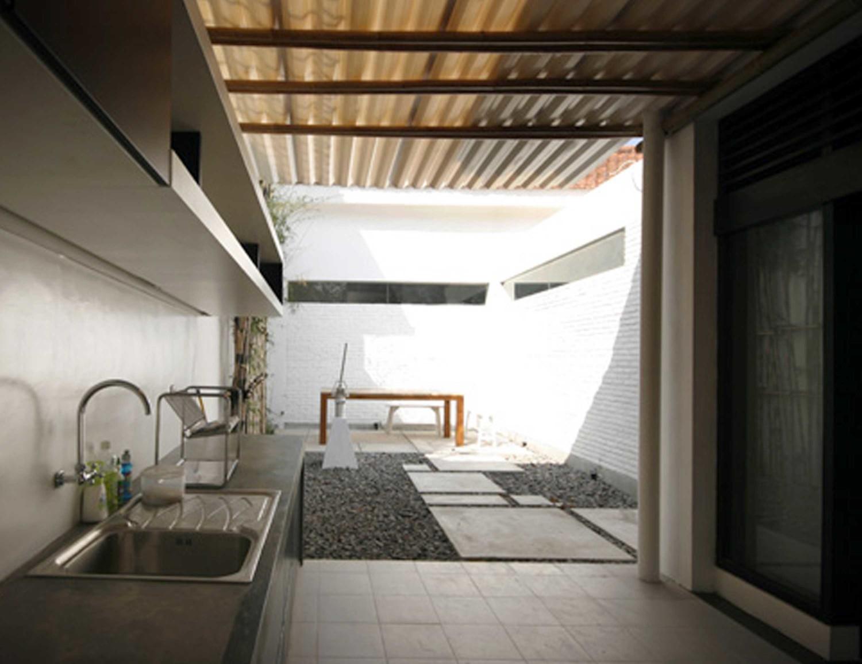 Desain Interior Dapur Outdoor Gambar Desain Rumah Minimalis