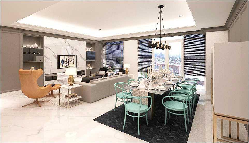 referensi design interior apartemen 2br design interior apartemen 8 Desain Apartemen Keren dan Trendy di Indonesia - ARSITAG