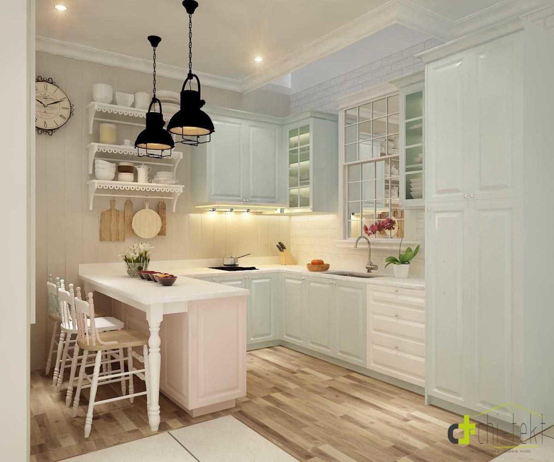Dapur mewah cantik Scandinavian D'gracias Kitchen Show karya DTarchitekt [Sumber: arsitag.com]