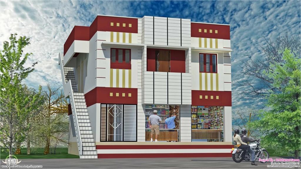 Rumah Toko Karya K. Mohamed Samee (Sumber: desainrumahnya.com)