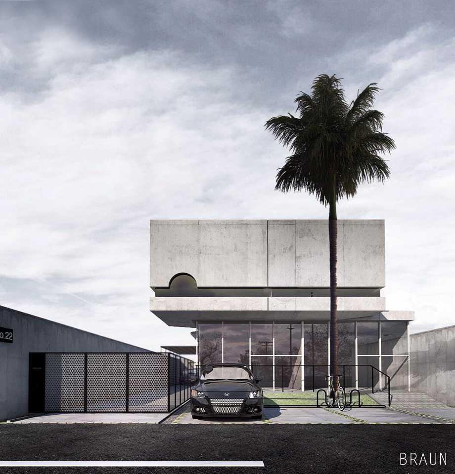 Ruko Baros, Cimahi Karya Braun Studio (Sumber: arsitag.com)