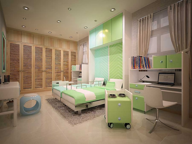 apartment rasuna & Residential di Jakarta karya dian hardiansyah tahun 2011 (Sumber: arsitag.com)