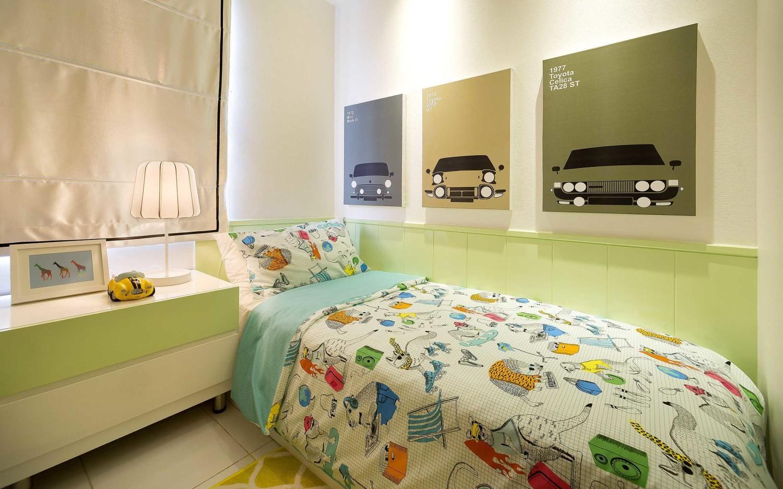 Kota Ayodhya apartment show unit 3 bedroom di Tangerang karya teddykoo (Sumber: arsitag.com)