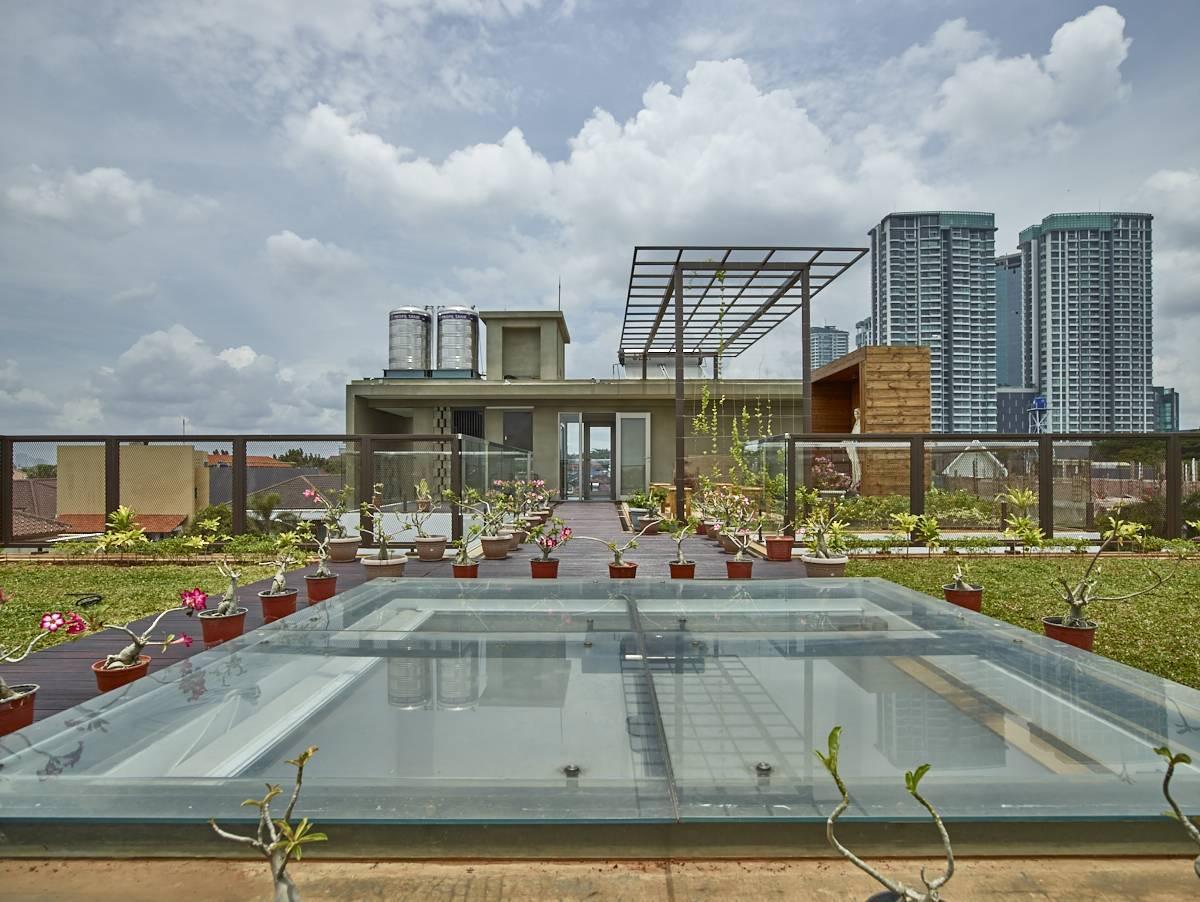 Bagaimana Cara Mendesain Taman Rumah Minimalis Di Atap (Rooftop Garden) | Foto artikel Arsitag