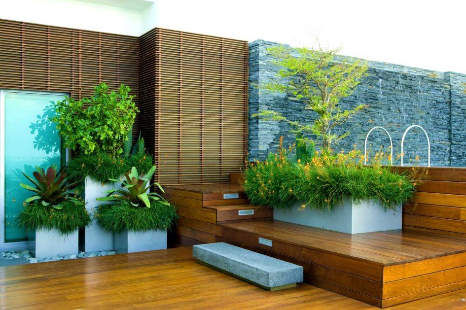 Taman rumah minimalis rooftop garden [Sumber: robtaylorforsenate.com]