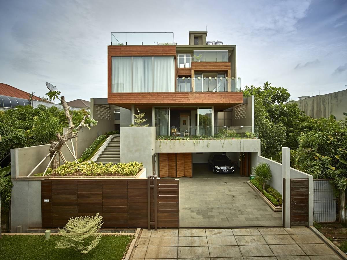 Kembang Murni House karya RAW Architecture West Jakarta, Indonesia (Sumber: arsitag.com)