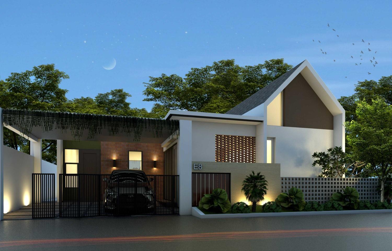 K-HOUSE - Yogyakarta di Yogyakarta karya Arsatama Architect tahun 2017 (Sumber: arsitag.com)