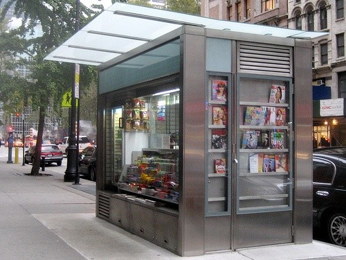 Contoh kios di pinggir jalan (Sumber: pinterest.com)