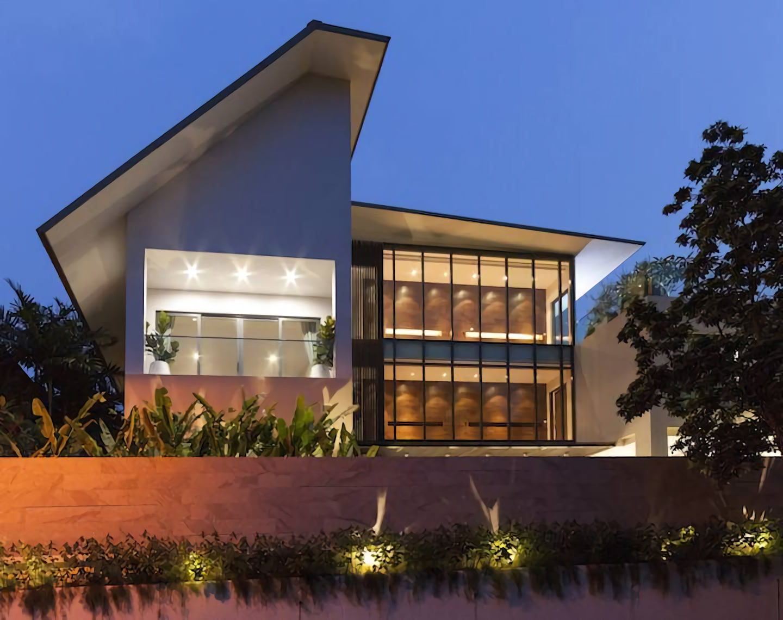 Rumah Bahasa di Singapura karya Lewin Nuramin tahun 2014 (Sumber: arsitag.com)