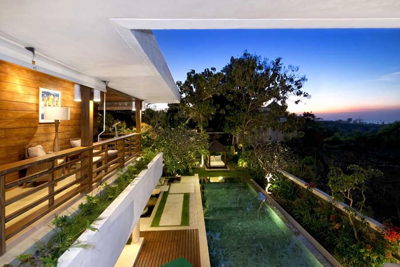 Villa Champa di Balangan, Bali karya IMAGO DESIGN STUDIO (Sumber: arsitag.com)