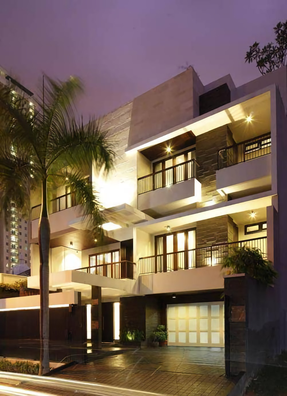 The Line House at Kelapa Gading di Jakarta karya Julio Julianto tahun 2008 (Sumber: arsitag.com)