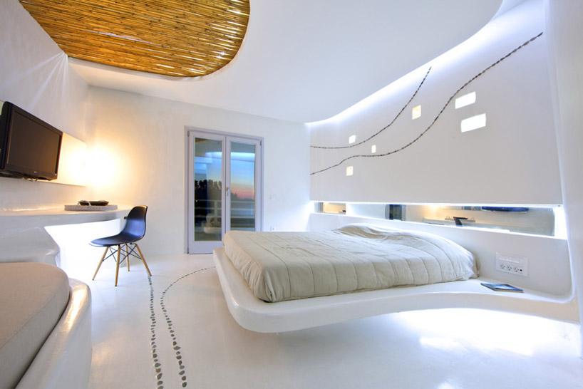 Kamar tidur futuristic (Sumber: designboom.com)