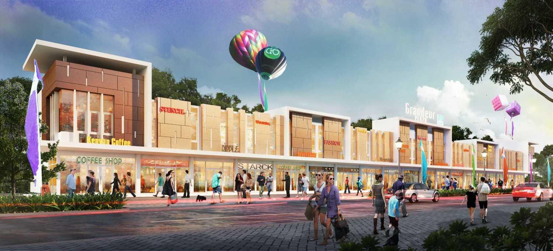 Ruko Grandeur karya GP.Architect (Sumber: arsitag.com)