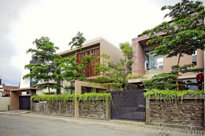 Sagan House di Yogyakarta karya HbArsitekPlus tahun 2016 (Sumber: arsitag.com)