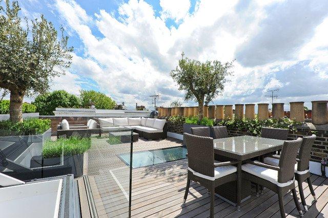 Ide desain ruang tamu rooftop [Sumber: [Sumber: architectureartdesigns.com]