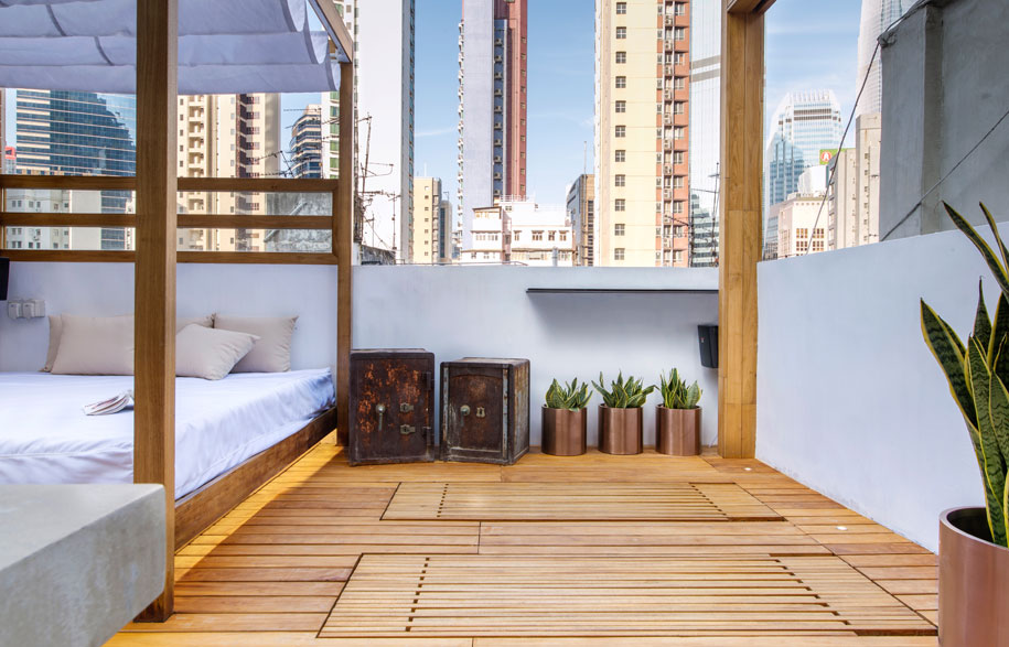18 Jenis desain taman atap (rooftop garden)