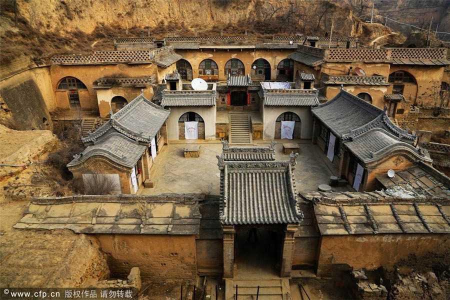 Kompleks rumah di Cina (Sumber: www.chinadaily.com.cn)