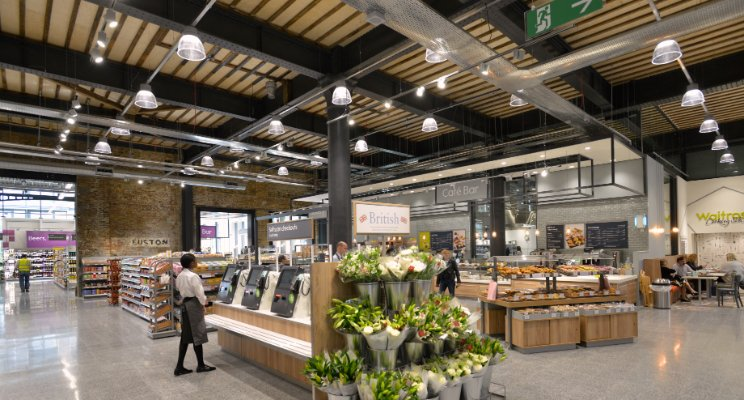 Waitrose King Cross Supermarket (Sumber: linkedin.com)