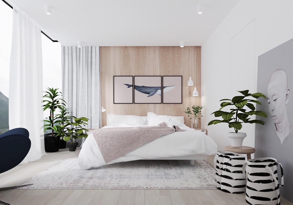 Ide desain kamar tidur minimalis sumber home designing com