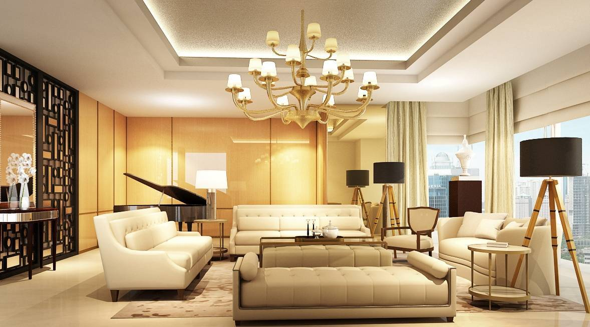 11 Inspirasi Untuk Membuat Ruang Tamu Nampak Mewah