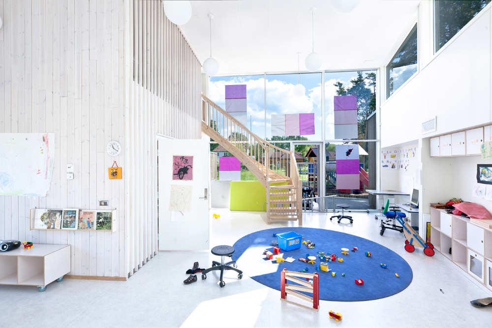 Contoh desain interior day care (Sumber: pinterest.com)