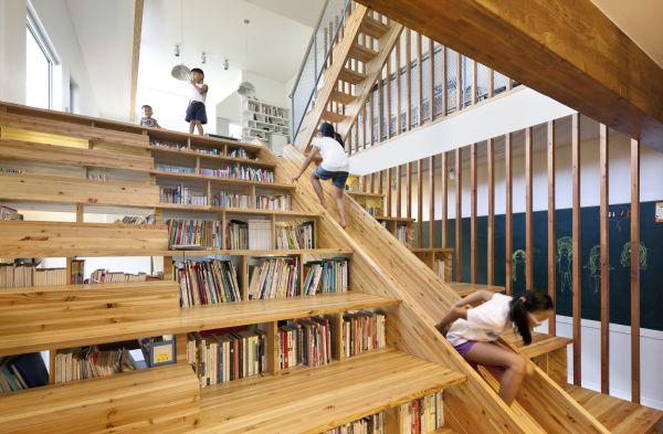 Trik desain tangga rumah modern dan kreatif [Sumber: homedit.com]