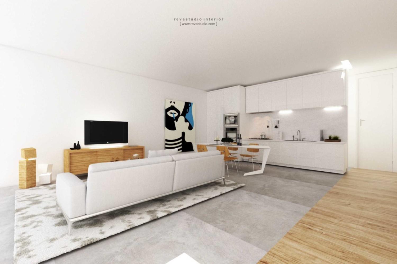 Jangan biarkan benda yang bukan perabotan berada di atas lantai. Silviana Lowis Karya Revano Satria (Sumber: arsitag.com)