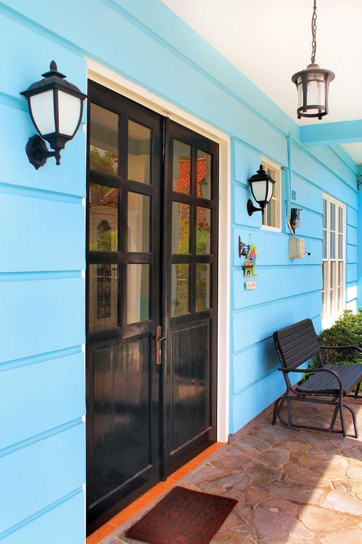 Rumah Paris di Yogyakarta karya Vindo Design tahun 2013 (Sumber: arsitag.com)