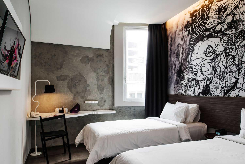 Gambar desain interior kamar hotel desain rumah for Dekor kamar hotel buat ulang tahun
