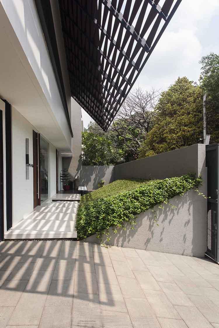 IS House di Kemang, Jakarta Selatan karya MINT-DS tahun 2015 (Sumber: arsitag.com)