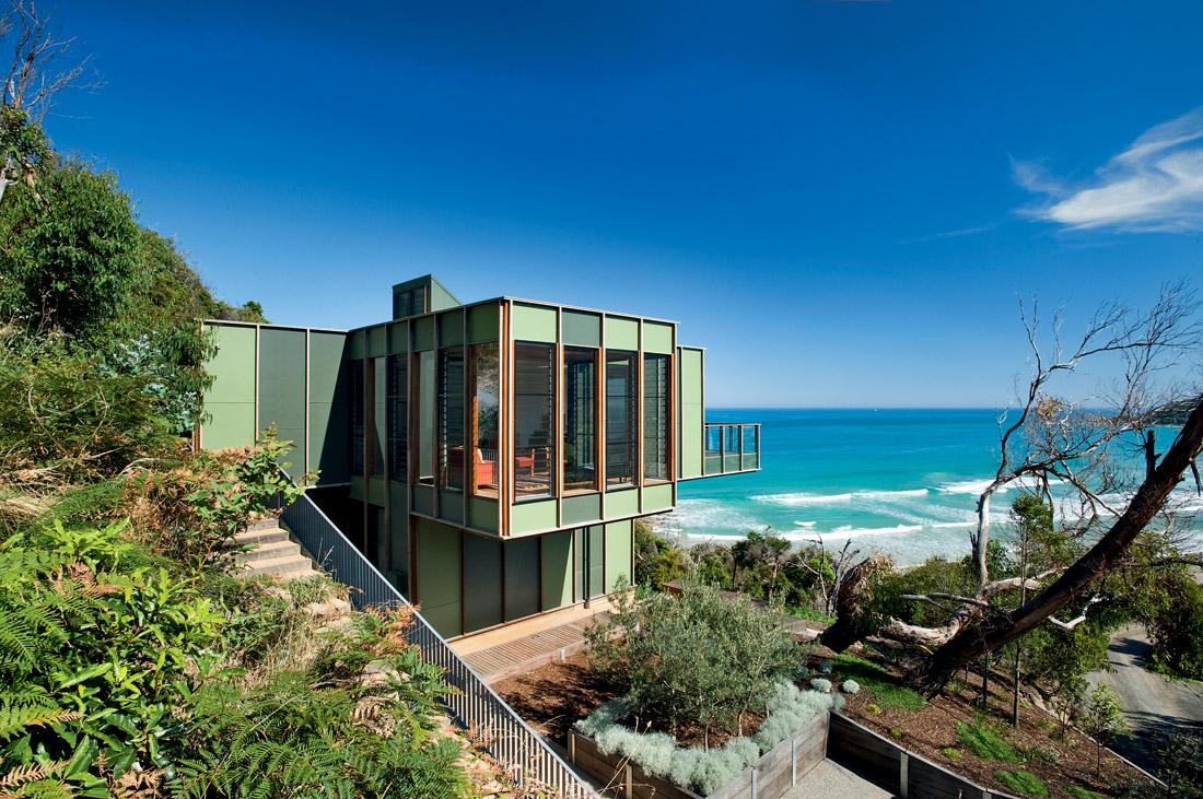 8 Inspirasi Desain Rumah Mewah Pinggir Pantai - ARSITAG