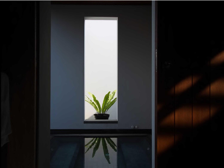 P_House di BSD, Tangerang karya Studio Air Putih tahun 2012 (Sumber: arsitag.com)