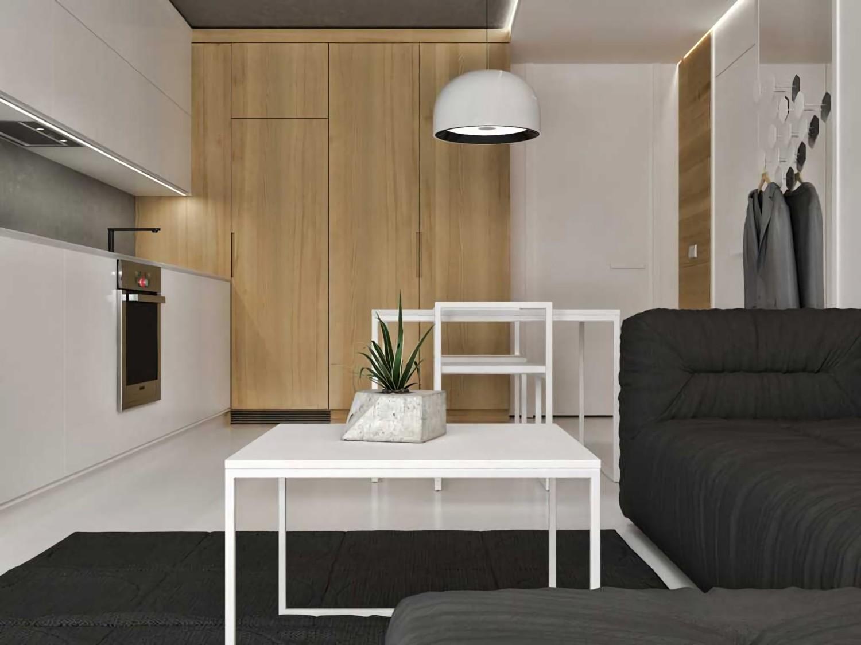 Studio Apartment di Jakarta karya JR Design tahun 2016 (Sumber: arsitag.com)