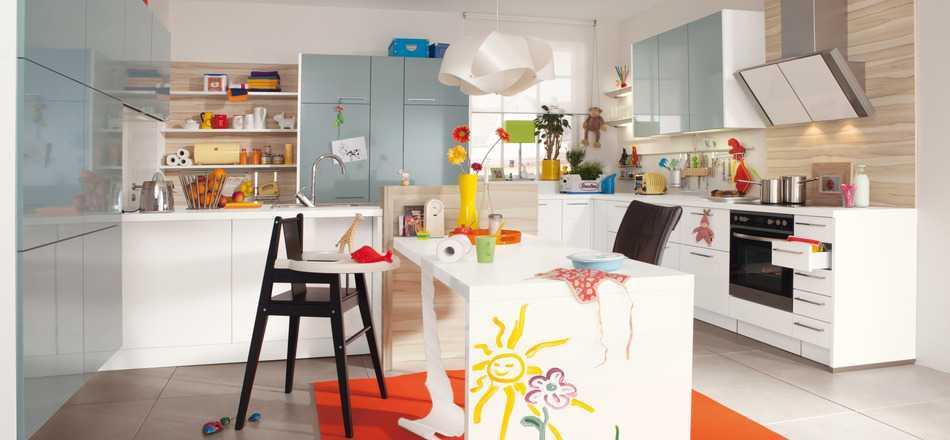 7 Desain Interior Dapur dengan Sentuhan Warna-warna Cerah | Foto artikel Arsitag