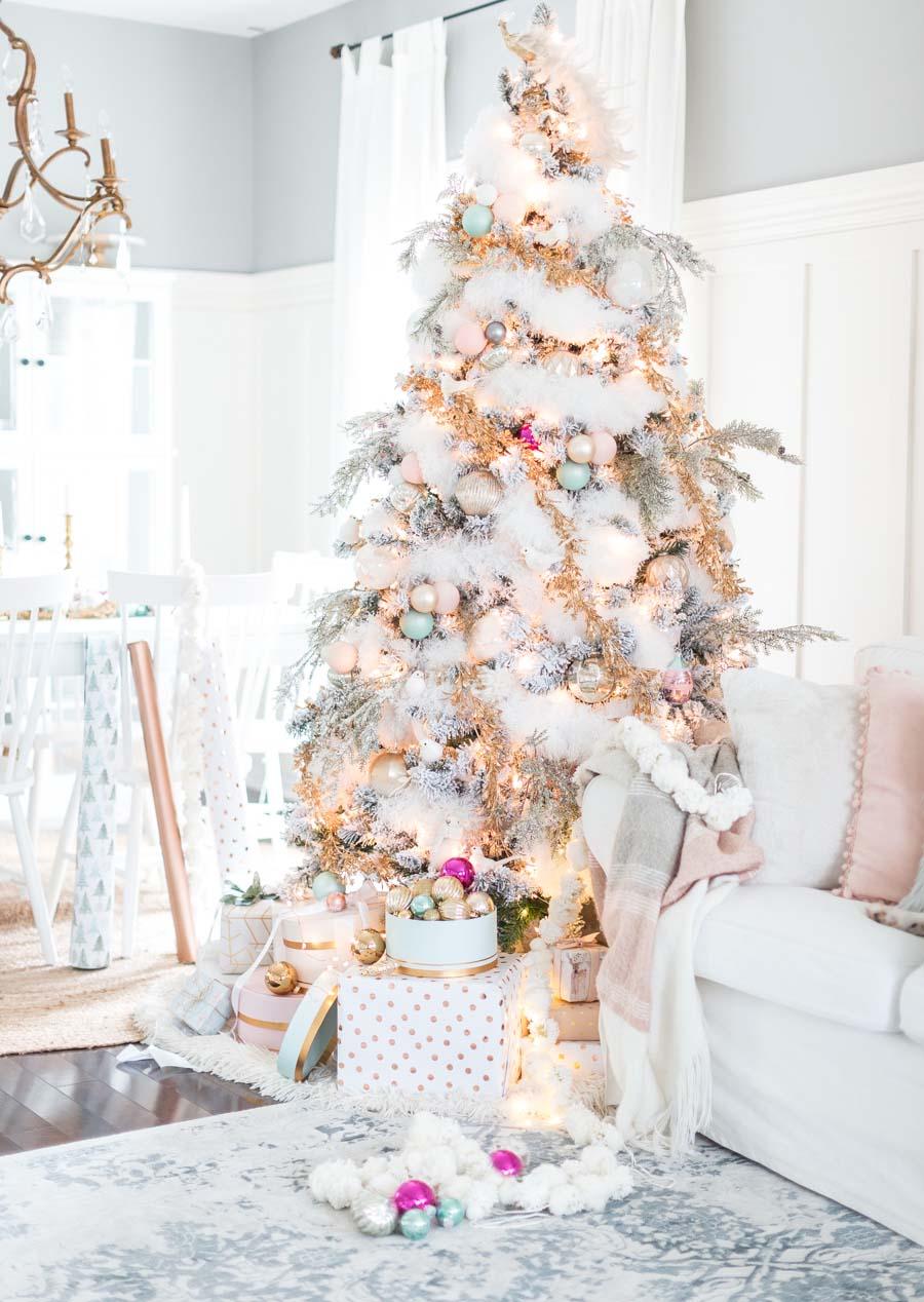 Dekorasi Natal Serba Pastel (Sumber: Pinterest.com)