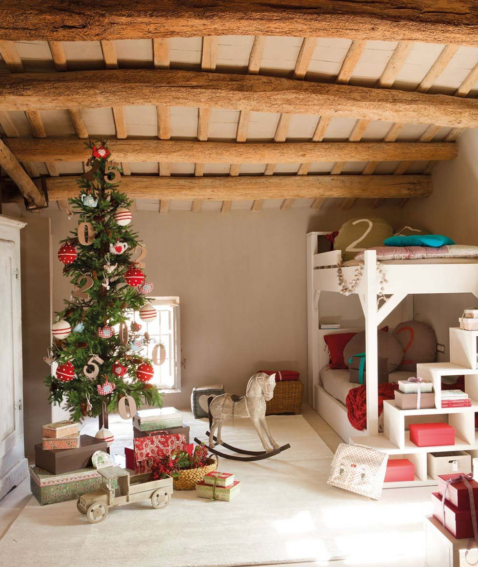 Dekorasi Christmas Fairytale, via: olivetreevalley.com