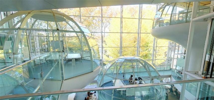Desain Interior Kampus Ini Akan Membuat Anda Betah Belajar di Sana | Foto artikel Arsitag