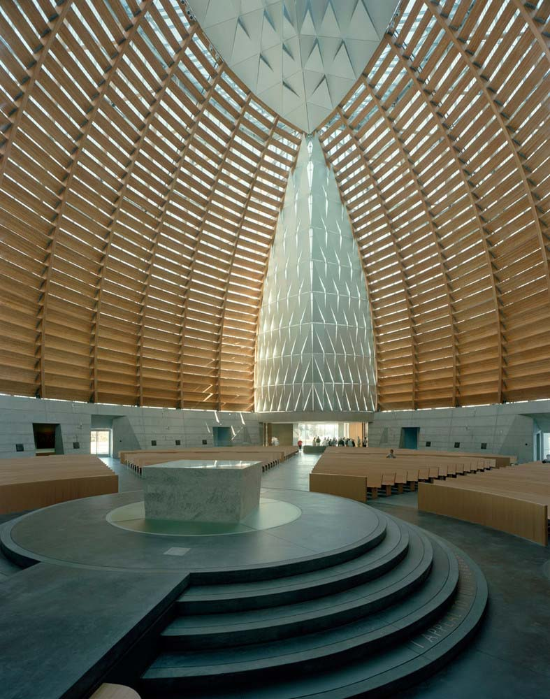 The Cathedral of Christ the Light karya SOM yang juga merancang Burj Dubai (Sumber: archdaily)