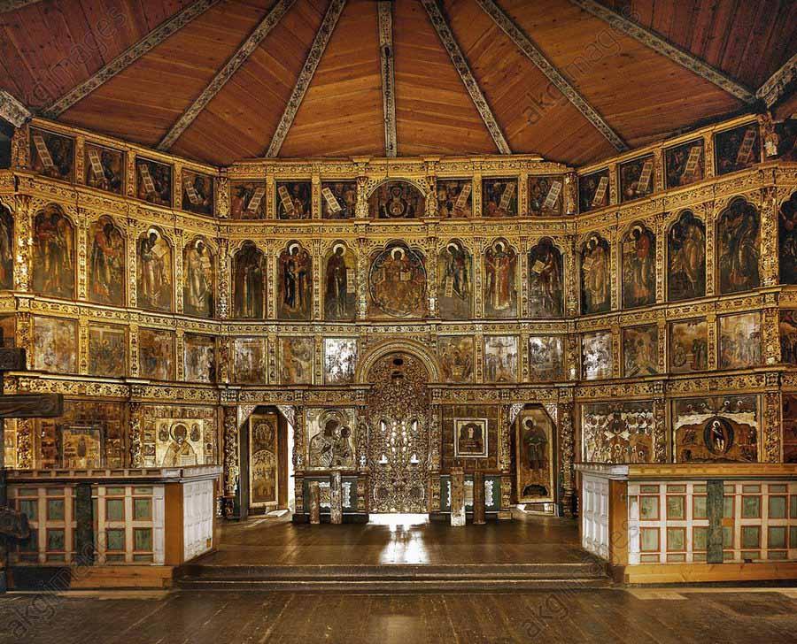 Kizhi Pogost diakui sebagai situs Warisan Dunia UNESCO dan satu dari delapan keajaiban dunia (Sumber: akg-images.co.uk)