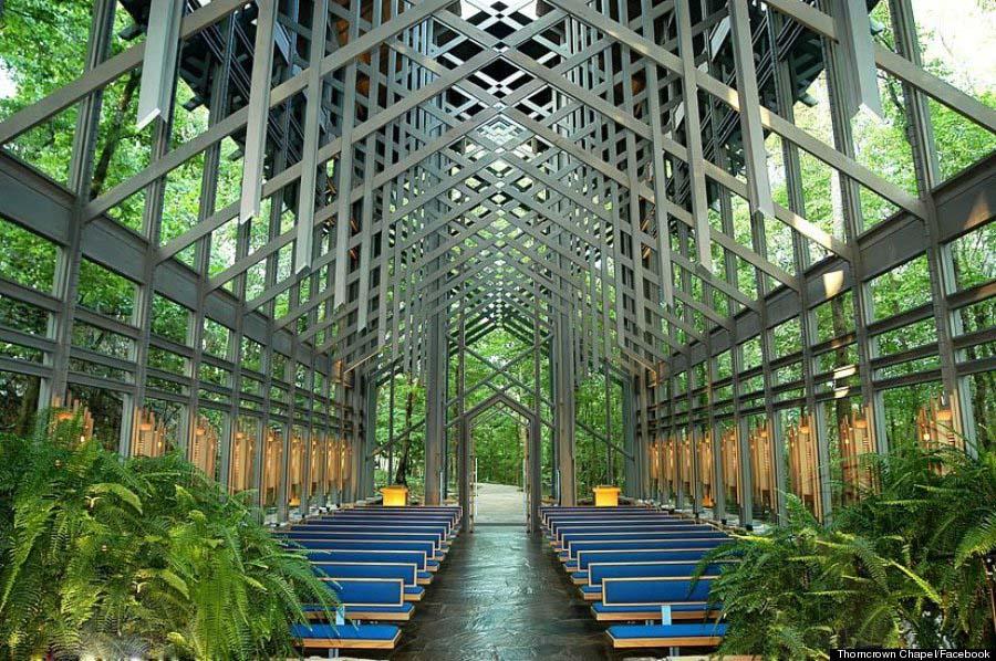 Ekspos struktur sebagai perkuatan yang melambangkan jamahan tangan Tuhan (Sumber: huffingtonpost)