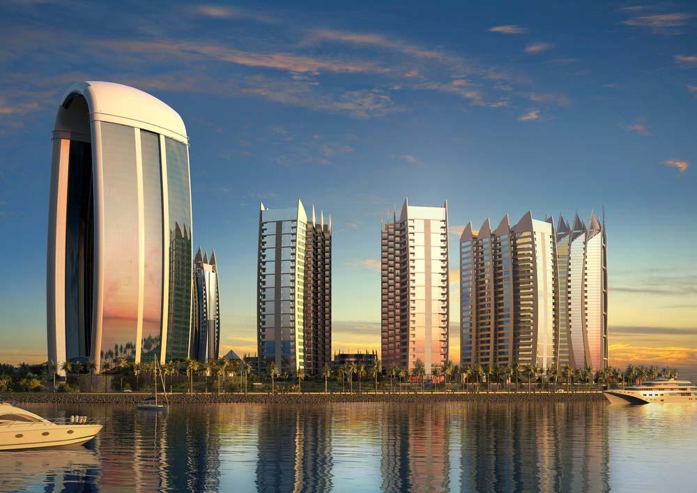 Regatta Hotel akan dibangun pada tahap ke-4 (Sumber: wkkarchitects.com)