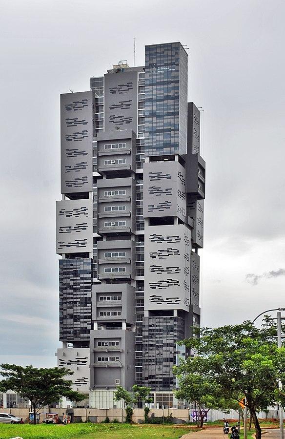 10 Arsitektur Bangunan Tinggi Yang Unik Di Indonesia Arsitag